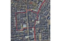 A map shows the area of the new weapon-free zone instituted in downtown Wiesbaden, Jan 1. (U.S. Army photo)