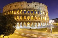 The Colisseum in Rome