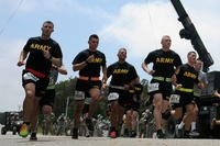 Army runners