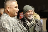 Robin Williams went on multiple USO tours to support the troops.