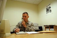 Airman processing security clearance
