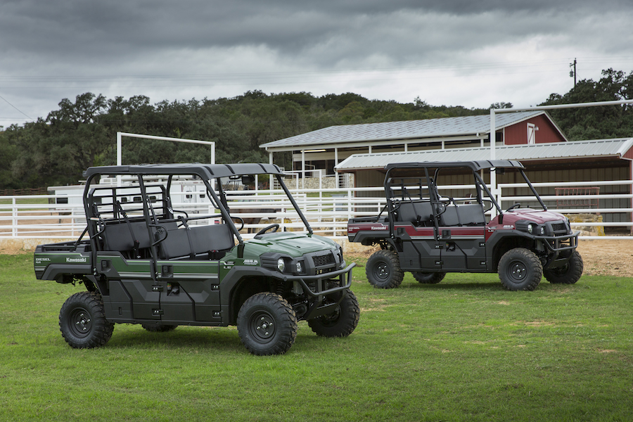 Diesel Power: Driving the Kawasaki Mule DX and DXT